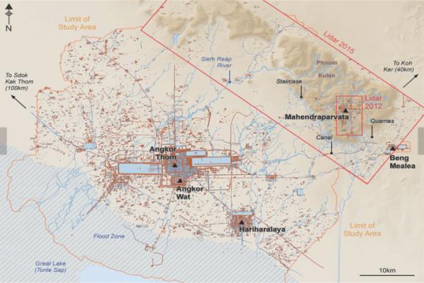 Campuchia: Xác định vị trí thành phố Phật giáo mất tích hàng thế kỷ