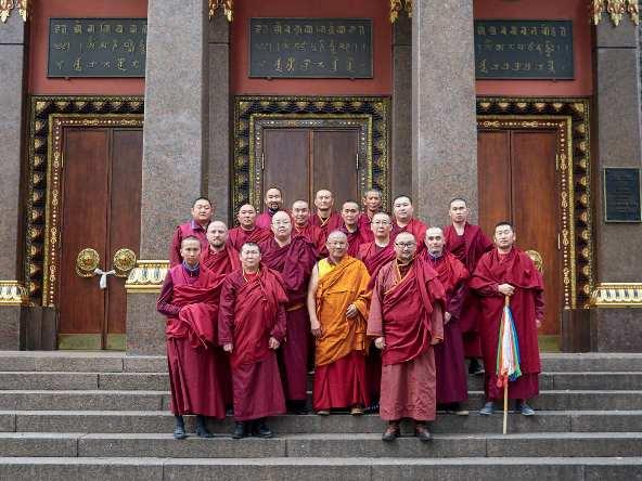 Nga: Một tu viện Phật giáo gặp khó khăn bởi đại dịch