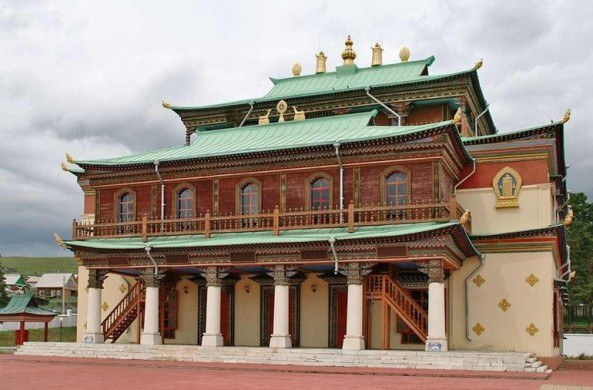 Học viện Phật giáo Aginsky ở Siberia