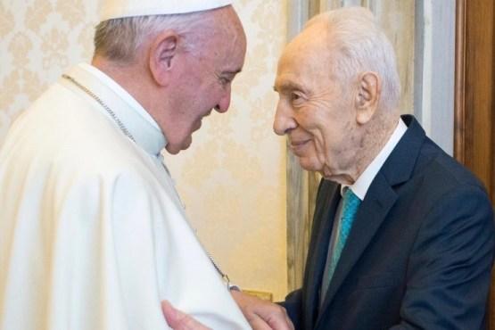 Điện văn chia buồn của ĐGH Phanxicô về việc cựu Tổng thống Shimon Peres từ trần