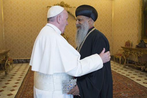 Đức Thánh Cha Phanxicô tiếp kiến Đức Thượng phụ Chính thống Ethiopia