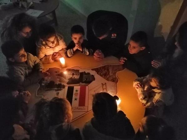 50 ngàn cây nến vì hòa bình ở Siria