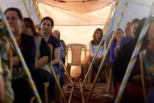Khánh thành ngôi nhà thờ mới tại Ankawa dành cho người tị nạn từ Ninivê