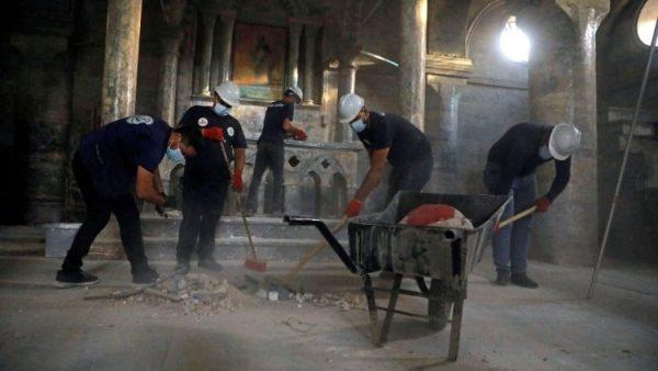Các bạn trẻ Kitô giáo và Hồi giáo chung tay tái thiết Mosul