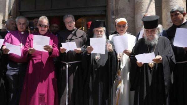 Các tín đồ Kitô giáo, Do thái giáo và Hồi giáo cùng cầu nguyện tại Giêrusalem