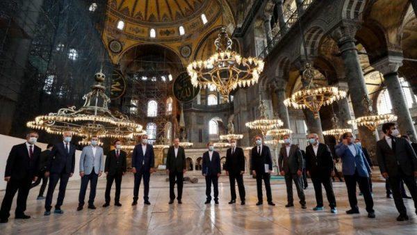 Các Giáo hội Công giáo và Chính Thống Hoa Kỳ cử hành Ngày than khóc đền thờ Hagia Sophia