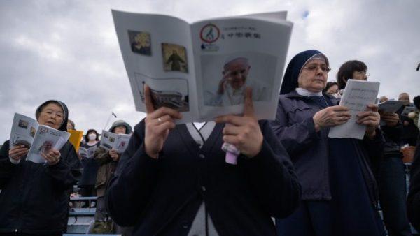 Chính phủ Nhật công nhận danh xưng Giáo hoàng