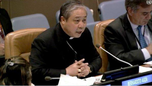 Đại diện Tòa Thánh tại LHQ kêu gọi xóa bỏ nghèo đói