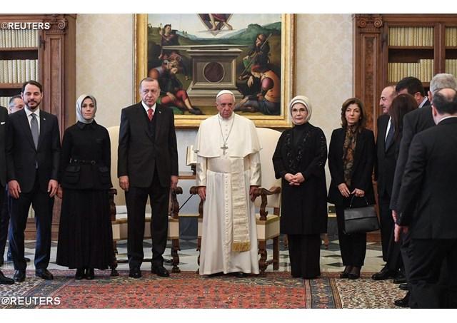 ĐGH Phanxicô tiếp Tổng thống Thổ Nhĩ Kỳ lần đầu tiên