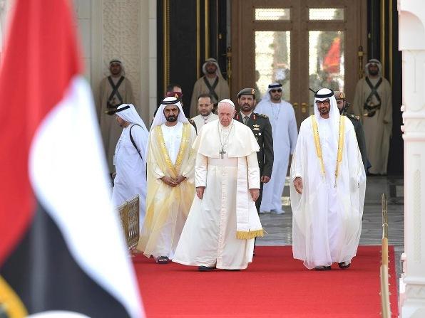 ĐGH Phanxicô viếng thăm Thái tử Liên minh Emirati