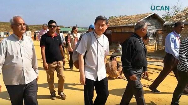 ĐHY Tagle thăm trại tị nạn Rohingya tại Bangladesh