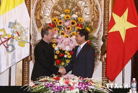 Nhóm công tác Hỗn hợp Việt Nam-Toà Thánh: Cuộc họp vòng VI