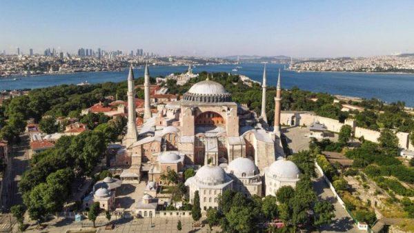 Chính phủ Syria sẽ xây một bản sao của đền thờ Hagia Sophia