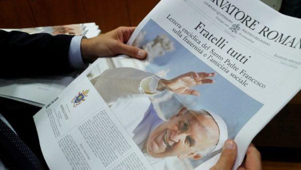 Tổng biên tập Vatican News bình luận về thông điệp Fratelli tutti