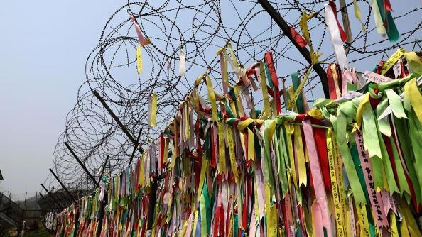 Hành hương vì hòa bình ở khu phi quân sự hai miền Triều Tiên