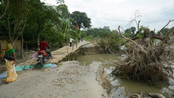 Caritas Ấn Độ trợ giúp các nạn nhân lũ lụt hai bang Assam và Bihar