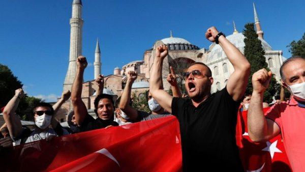 Thổ Nhĩ Kỳ chuẩn bị thay đổi đền thờ Hagia Sophia thành đền thờ Hồi giáo