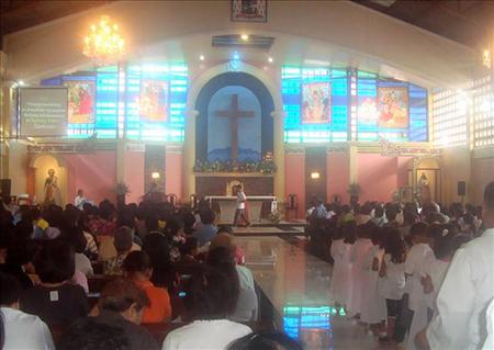 Philippines: Nhà thờ chính toà ở Marawi bị đốt