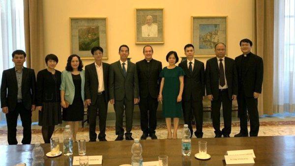 Thông cáo chung của Nhóm Làm việc Việt Nam - Toà Thánh