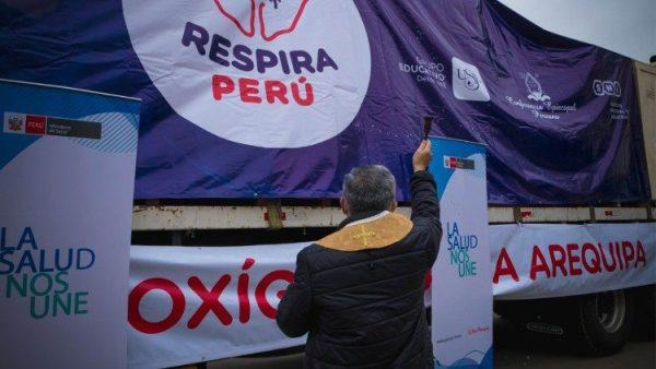 ĐGH gửi sứ điệp cho các nhà tổ chức sáng kiến quyên góp vật tư y tế cho Peru chống đại dịch