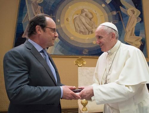 Tổng thống Pháp François Hollande viếng thăm Vatican lần thứ hai