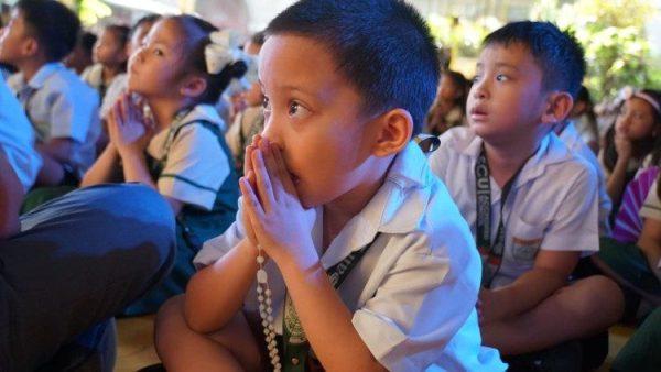 Lời kêu gọi 1 triệu trẻ em lần chuỗi Mân Côi