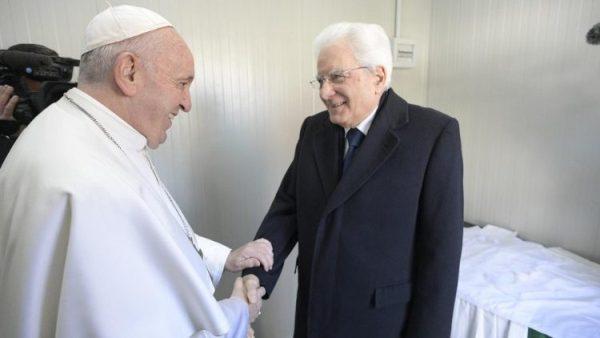 Tổng thống Ý chúc mừng ĐGH Phanxicô nhân 7 năm khai mạc sứ vụ Giáo hoàng