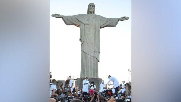 Tượng Chúa Kitô Cứu Thế ở Brazil được trùng tu nhân kỷ niệm 90 năm xây dựng