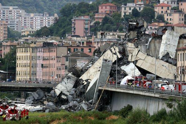 ĐGH Phanxicô cầu nguyện cho các nạn nhân vụ sập cầu ở Genova
