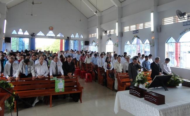 Đồng Tháp: Lễ Cảm tạ Chúa, kỷ niệm 80 năm thành lập HTTL Hồng Ngự