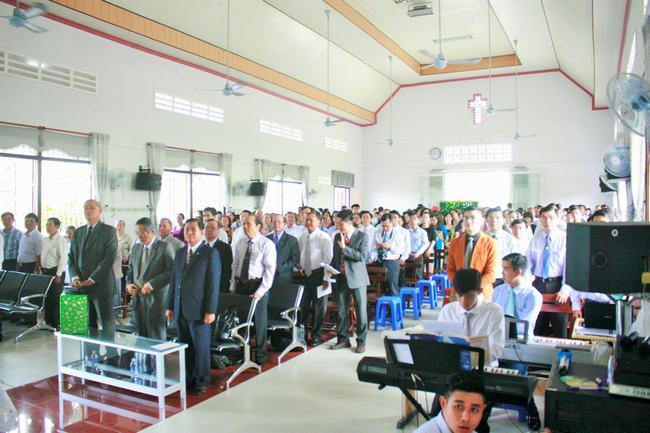 Kiên Giang: Lễ kỷ niệm 45 năm thành lập Hội Thánh An Hòa