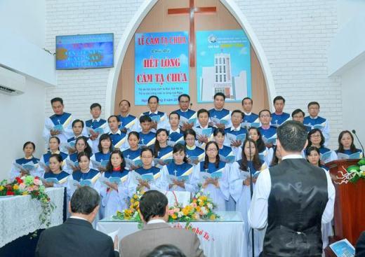 Lễ Cảm tạ Chúa, kỷ niệm 10 năm thành lập HT. Bình Tân