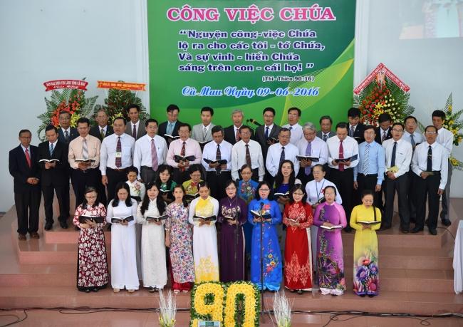 Lễ Cảm tạ Chúa - Kỷ niệm 90 năm Tin Lành truyền đến Cà Mau