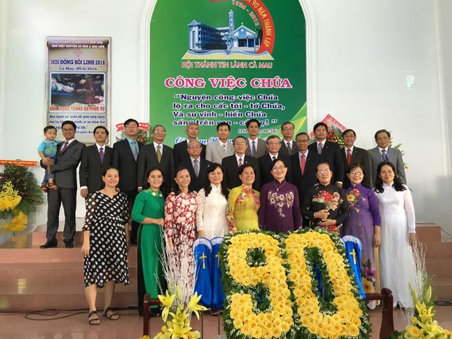 Thường trực Tổng Liên Hội thăm viếng công việc Chúa tại tỉnh Cà Mau