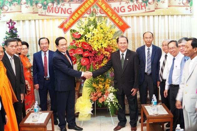 Ủy Ban TW MTTQ Việt Nam Chúc mừng Giáng sinh Tổng Liên hội