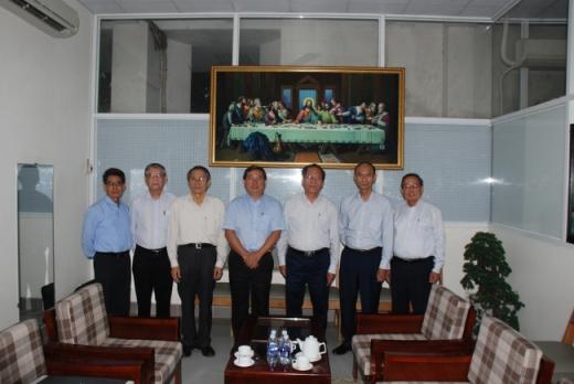 Buổi Thông công giữa AWF và Tổng Liên Hội