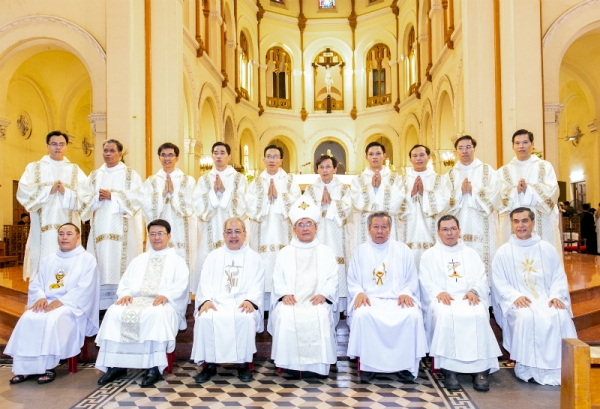 Thánh lễ Truyền chức Phó tế 29.05.2019