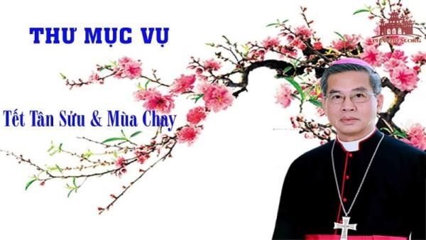 Tổng Giáo phận Sài Gòn: Thư mục vụ Tết Tân Sửu - Mùa Chay 2021