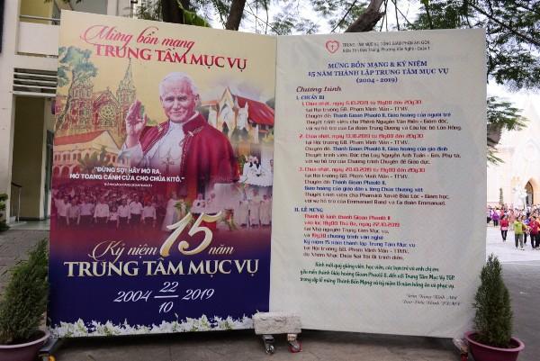 Trung tâm Mục vụ TGP Sài Gòn: Mừng lễ bổn mạng