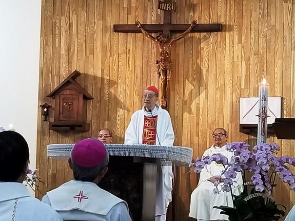 Kỷ niệm 55 năm thụ phong Linh mục của ĐHY Gioan Baotixita