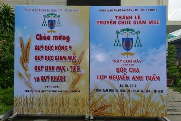 Thánh lễ Truyền chức Giám mục cho Cha Luy Nguyễn Anh Tuấn