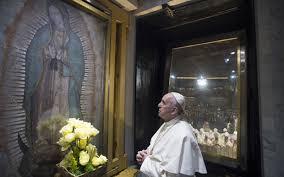ĐGH Phanxicô cầu nguyện tại Guadalupe