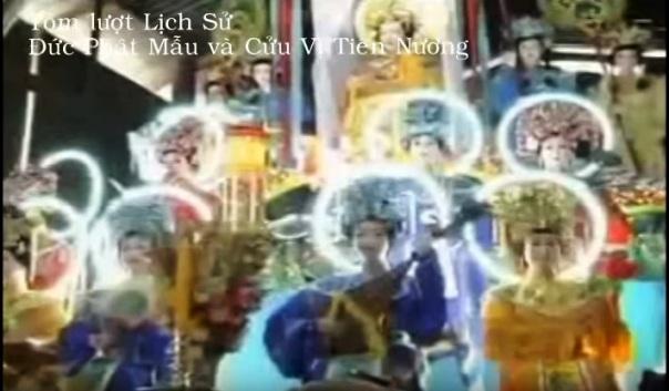 Lược sử Phật Mẫu và Cửu Vị Tiên Nương- Đạo Cao Đài