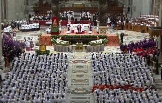 Thứ Tư Lễ Tro và Nghi thức sai đi (10.2.2016)
