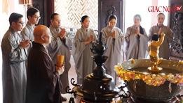Ý nghĩa và nghi thức Tắm Phật tại tư gia Phật tử
