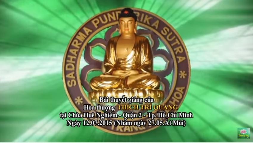 Vô Thường - Hòa Thượng Thích Trí Quảng