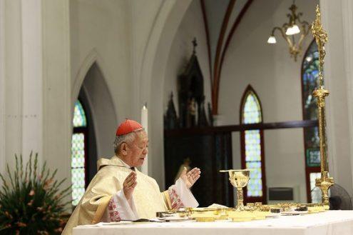 ĐHY Phêrô dâng Thánh lễ tạ ơn, kết thúc sứ vụ mục tử
