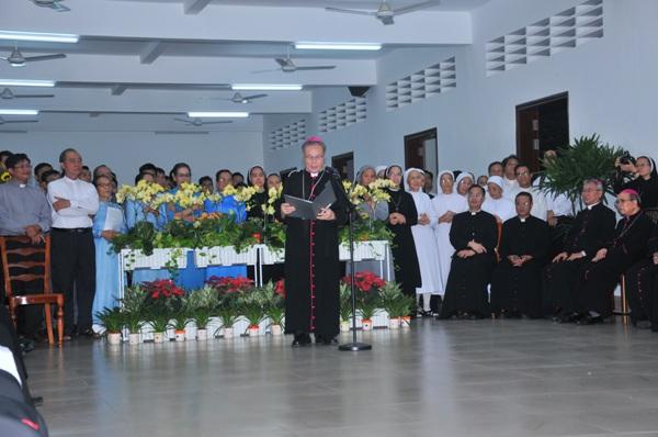 Diễn từ chào mừng Đức TGM Marek Zalewski của Chủ tịch HĐGM VN