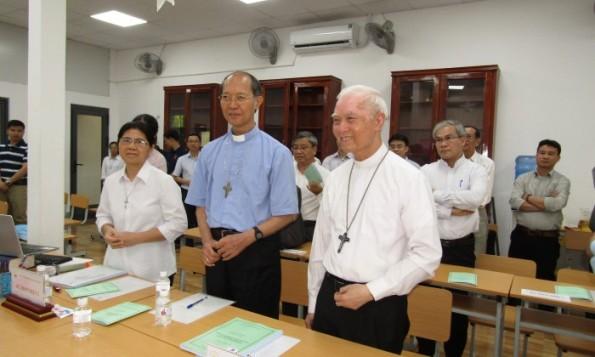 Bảo vệ luận văn Thạc sĩ thần học tại Học viện Công giáo Việt Nam