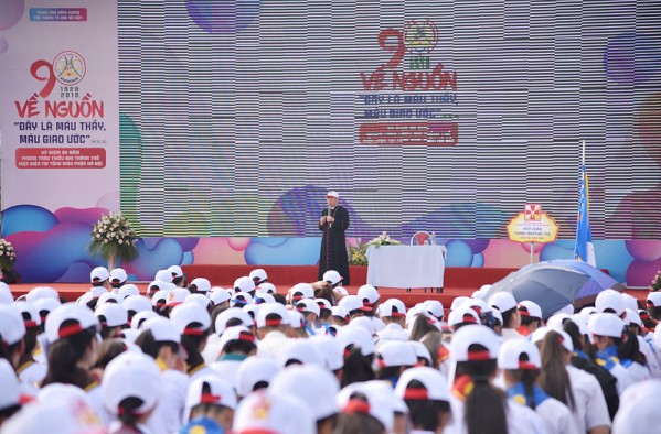 Đại hội kỷ niệm 90 năm phong trào TNTT hiện diện tại TGP Hà Nội